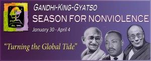 peace, nonviolence, SNV, Gandhi, King, Gyatso, Dalai Lama