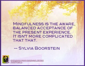 AGNT, SNV, nonviolence, Peace Within, mindflness